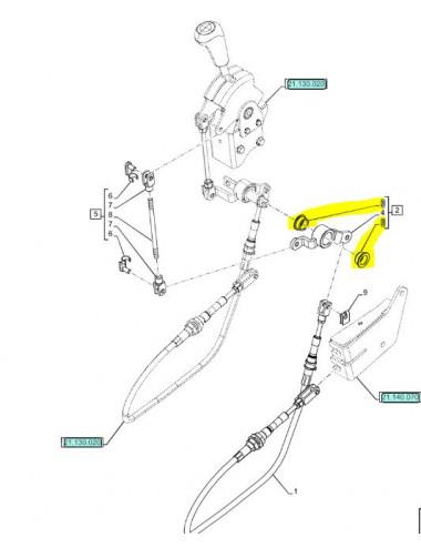 boccola leva New Holland - cod 47358739