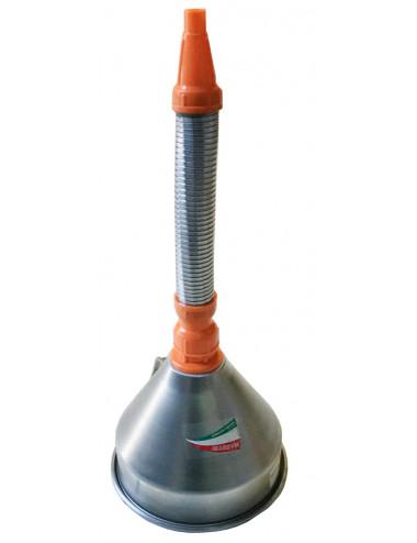 Imbuto in metallo con filtro e flessibile Maestri - cod 1630