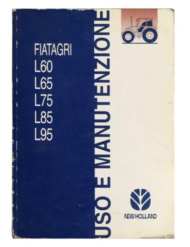 libro uso e manutenzione serie Lxx- cod 6036435000