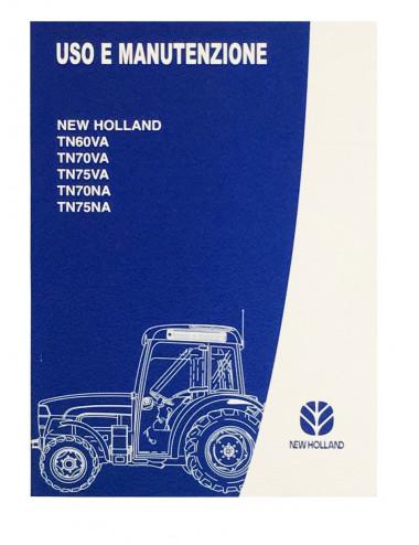 libro uso e manutenzione serie TN - cod 6036469000