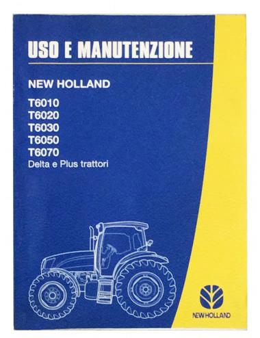 libro uso e manutenzione serie T6xxx - cod 82999310
