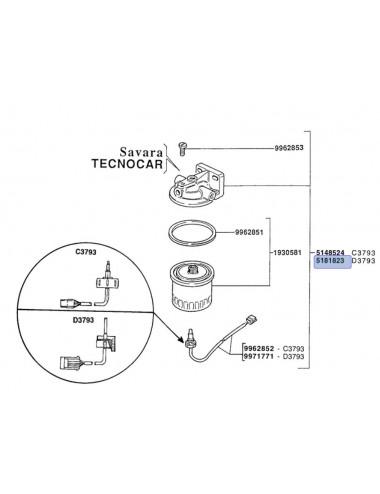filtro completo CNH - cod 5181823