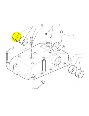 boccola CNH - cod 5181871