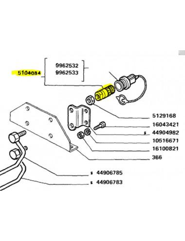 Accoppiatore New Holland - cod 5104084