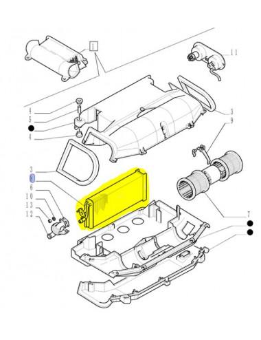 radiatore condizionatore CNH - cod 5192106