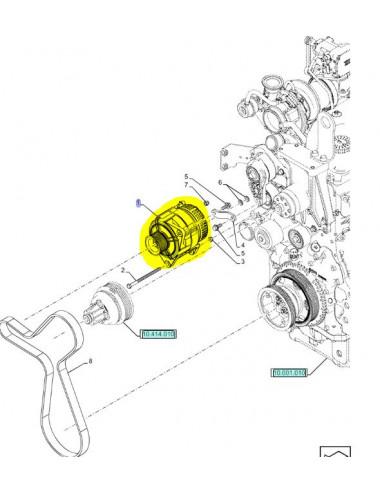 alternatore CNH - cod 84141452