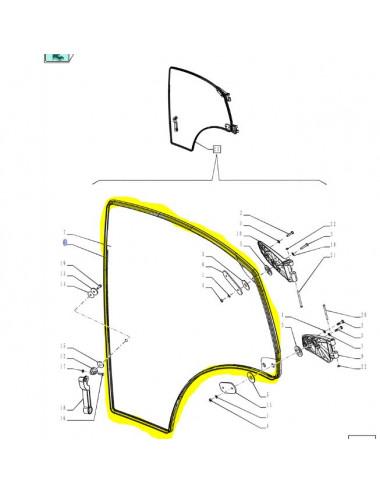 guarnizione sportello destro CNH - cod 84275610
