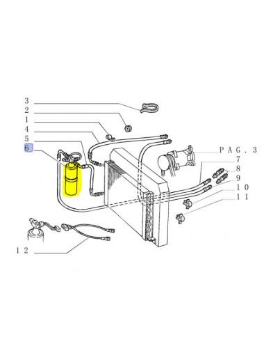disidratatore CNH - cod 5166852
