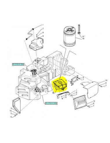 modulo di controllo rigenerato CNH - cod 84246892R