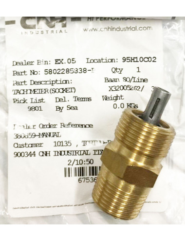 adattatore cronogirometro CNH - cod 5802285838