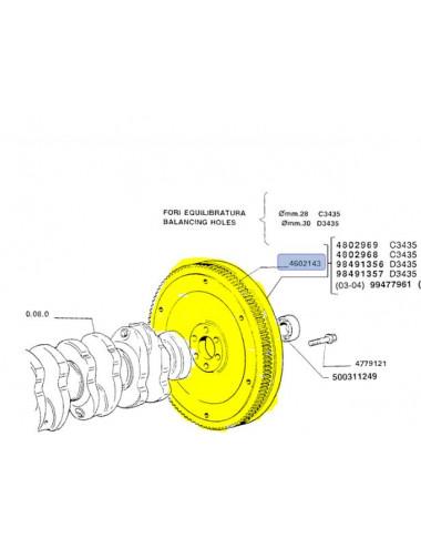 Corona dentata New Holland - cod 4602143