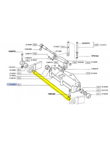Barra Stabilizzatrice New Holland -cod 5116243