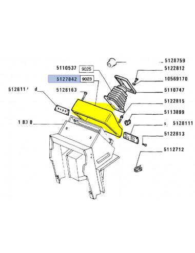 plancia CNH - cod 5127842