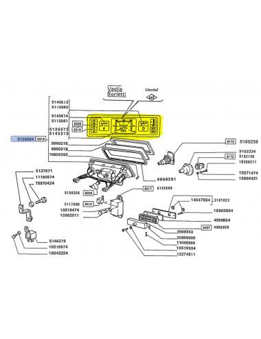 quadro strumenti CNH - cod 5129684