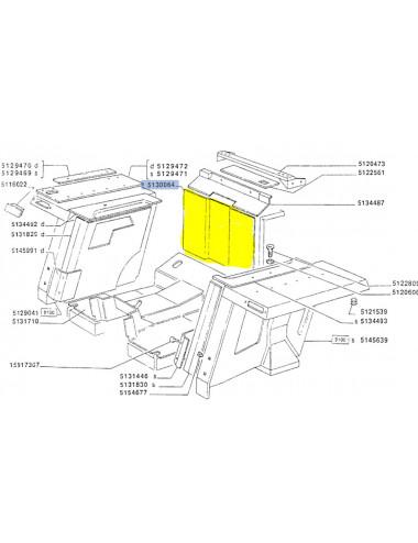 rivestimento morbido CNH - cod 5130064