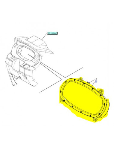 Quadro strumenti CNH - cod 47699196