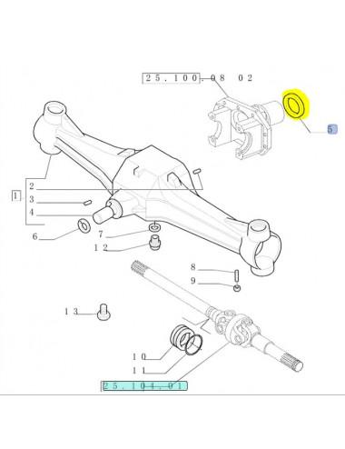 paraolio anello CNH - cod 49967799