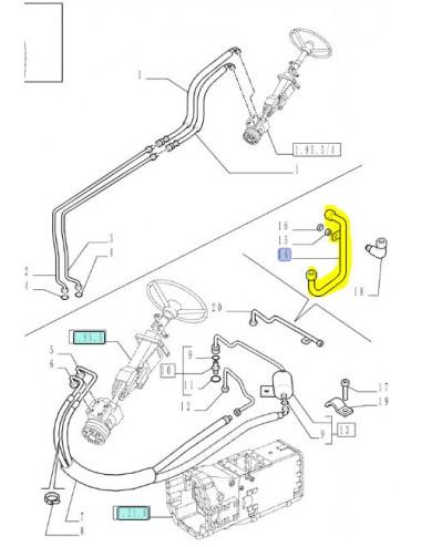 Tubo rigido COD - 5188189  Ricambio originale CNH