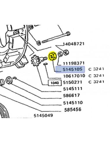 distanziale CNH - cod 5145105