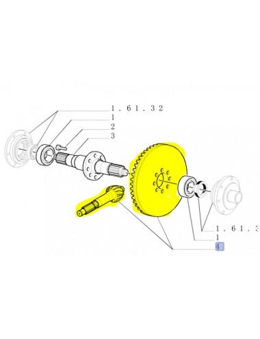 Coppia conica R9/49 non originale - cod. 5129387