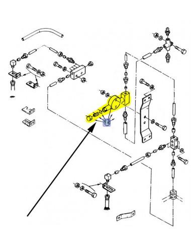 Pompa olio motore New Holland - cod 84015015