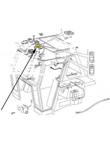 Interruttore lavavetri New Holland - cod 5109752