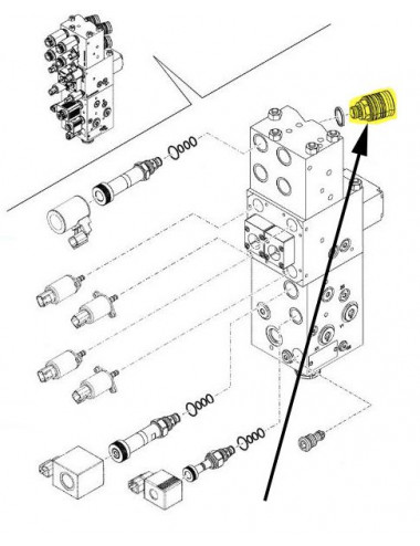 Accoppiatore New Holland - cod 5179556