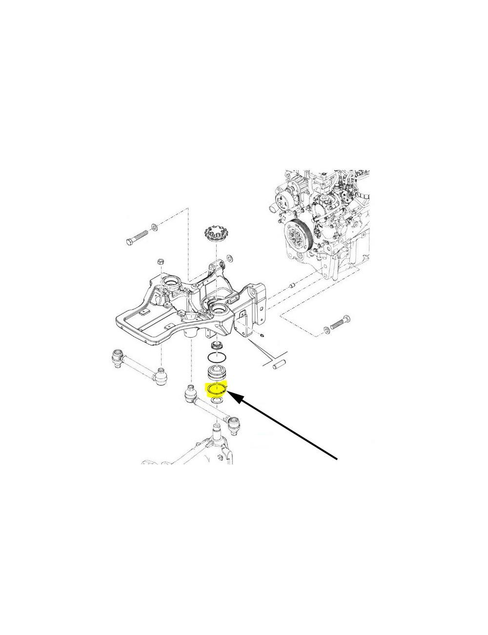 Anello di ritegno seeger New Holland - cod 16875173