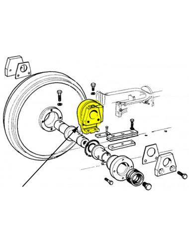 Supporto ruota tendicingolo New Holland - cod 5111367
