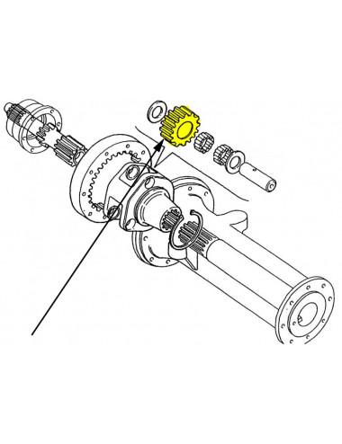 Satellite New Holland - cod 5127049