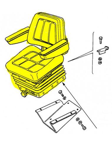 sedile conducente di lusso CNH - cod 47476151