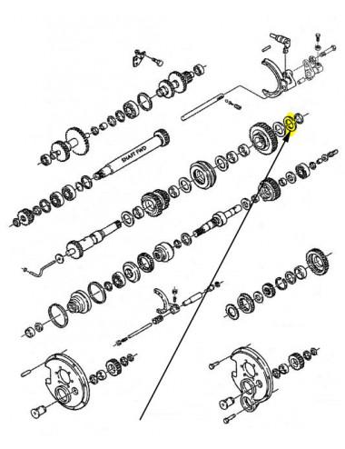 Rosetta piana New Holland - cod 81869772