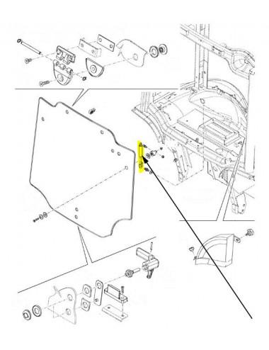 Ammortizzatore New Holland - cod 47390179