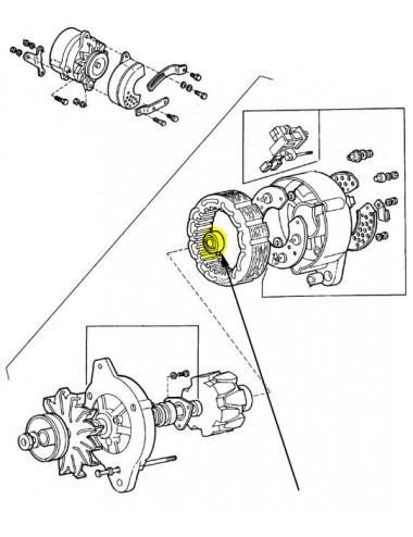 Cuscinetto a sfera New Holland - cod 9808450