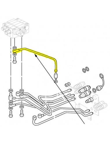 Tubo idraulico New Holland - cod 5171297