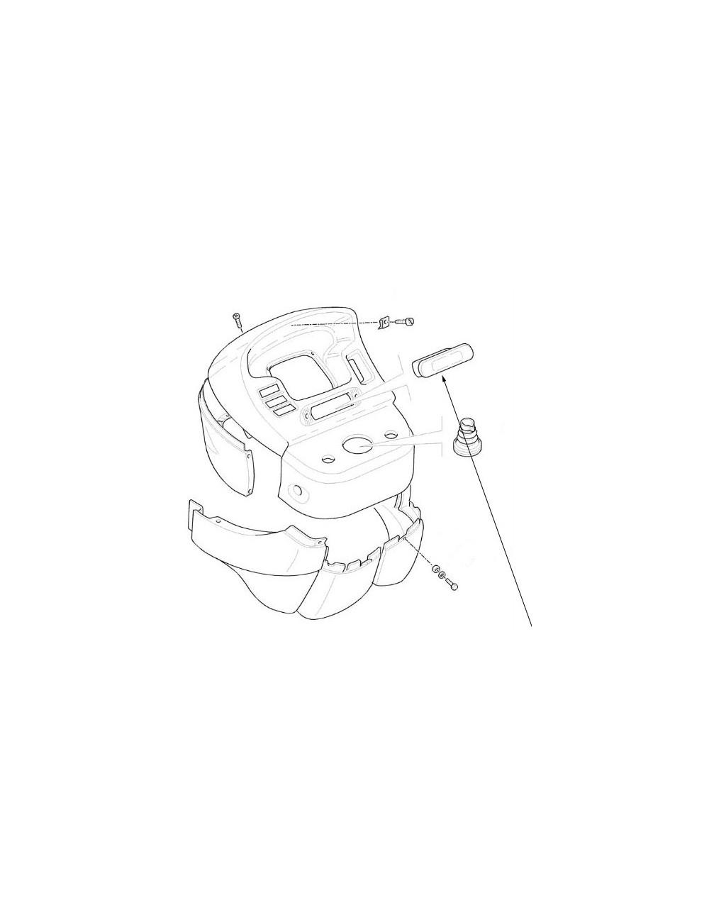 coperchio console CNH - cod 5183046