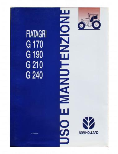 manuale uso e manutenzione serie G