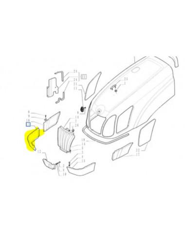 Mascherina ricambio originale CNH - particolare n.47129063