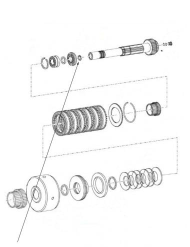 Anello elastico M32 New Holland - cod 11059076