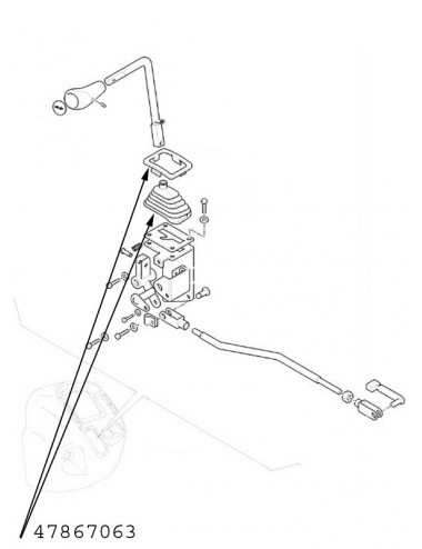 Cuffia parapolvere New Holland - cod 47867063