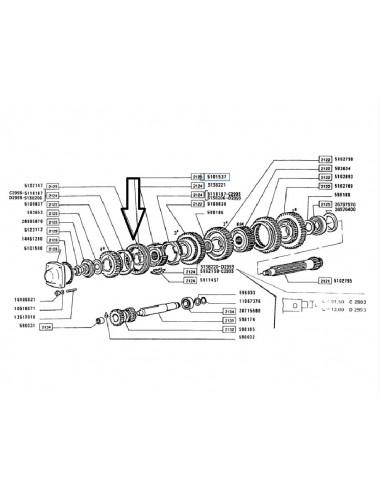 Boccola trasmissione New Holland - cod 5101537