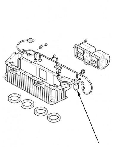 interruttore termometro relè New Holland - cod 84402860