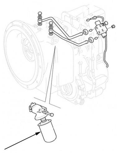 Filtro olio idraulico New Holland - cod 84343800
