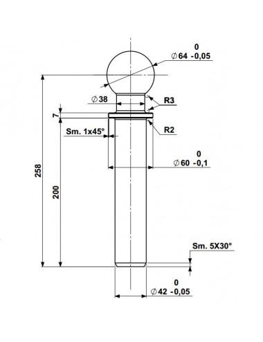 Perno Sigma 4 - cod 501185001
