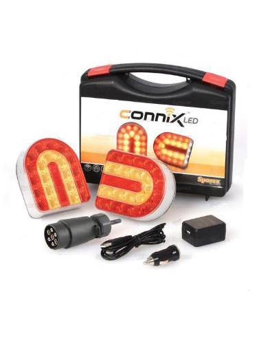 Kit Fanali - Wireless, Magnetico Sparex - cod 130977