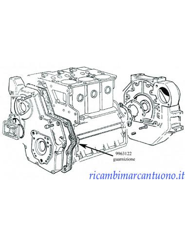 Serie guarnizioni motore New Holland - cod 9963122