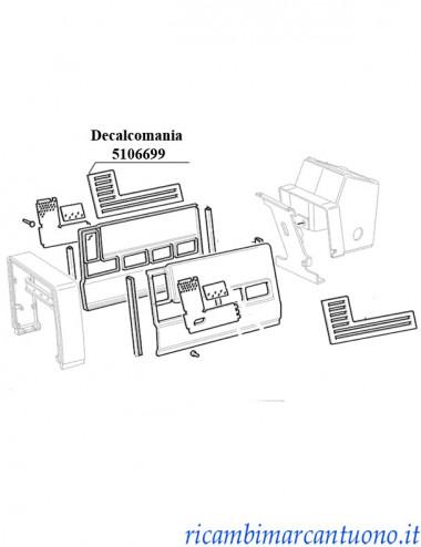 Decalcomania New Holland - cod 5106699