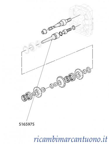 Albero New Holland - cod 5165975