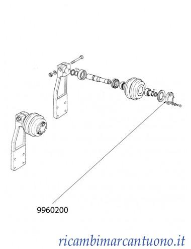 Coperchio New Holland - cod 9960200